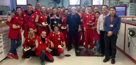 KImi Räikkönen visita Ferrari y conoce a su nuevo ingeniero