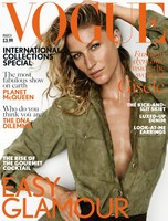 Vogue Reino Unido:  Gisele Bündchen