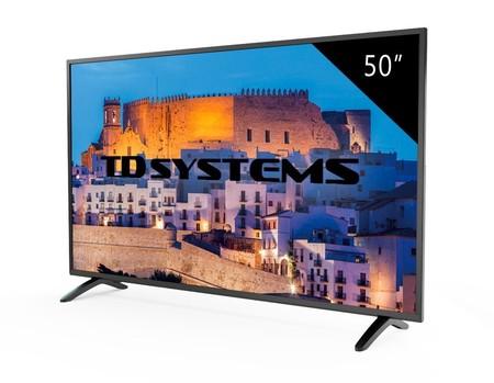 Oferta Flash: televisor FullHD de 50 pulgadas TD Systems K50DLM8F por sólo 299 euros y envío gratis