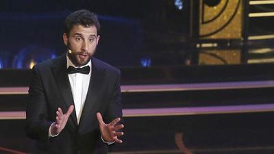 Dani Rovira sobresale en la gala de los Goya más larga y absurda que se recuerda