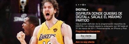 Los abonados de Digital+ ya pueden ver online algunos contenidos