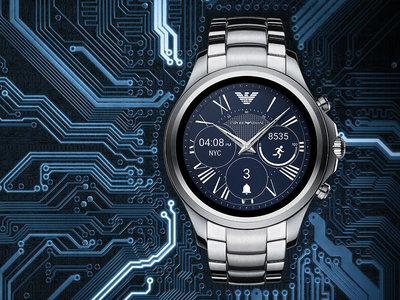 Armani se suma a la moda de los wearables: lanzará un smartwatch con Android Wear 2.0 en septiembre