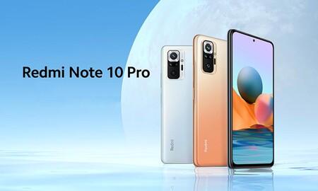 Estrenar el Xiaomi Redmi Note 10 Pro con 128 GB cuesta 50 euros menos con el cupón XIAOMI20OFF de eBay