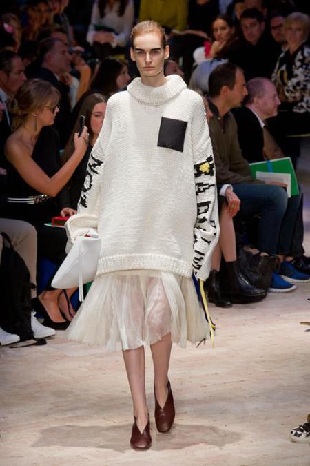 Estilo saco diseño de Céline Primavera-Verano 2014
