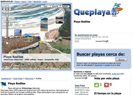 Queplaya.es, información de todas las playas españolas