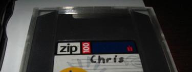 Los discos ZIP de iOmega, los