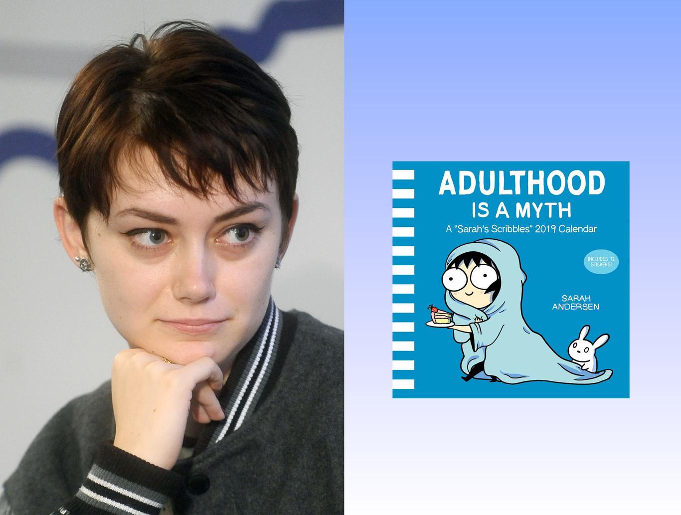 Colgaba dibujos en Tumblr y ahora es una de las viñetistas más exitosas: la historia de Sarah Andersen