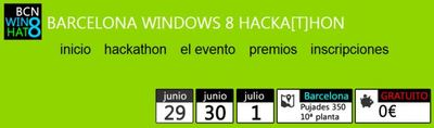 Barcelona Windows 8 Hackathon