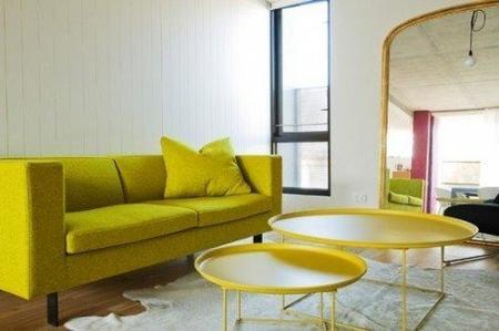 Otra vista del salón amarillo.