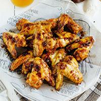 Alitas picantes de pollo en adobo: receta