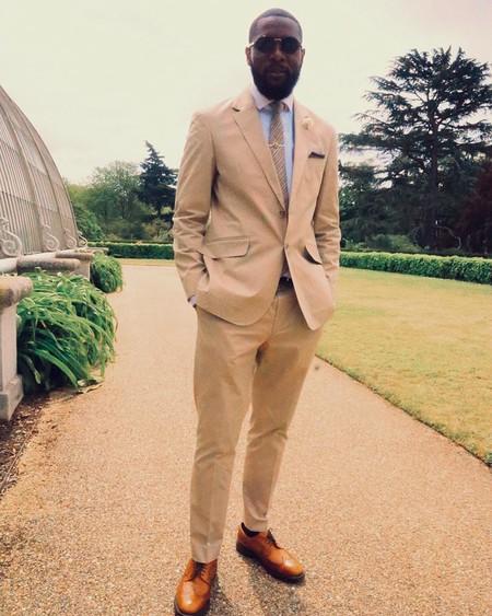 Tan Suit Men Street Style Beige Trendencias Hombre 17