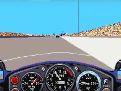 Los simuladores de carreras no siempre fueron las joyas que hoy tenemos. Así evolucionaron