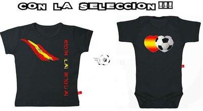 Camisetas y bodys para el Mundial de fútbol