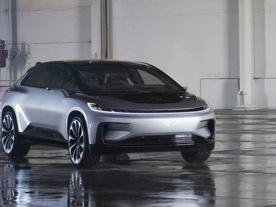 1,050 hp y 0 a 100 en 2.39 s. Faraday Future y su FF 91 quieren aplastar a Tesla