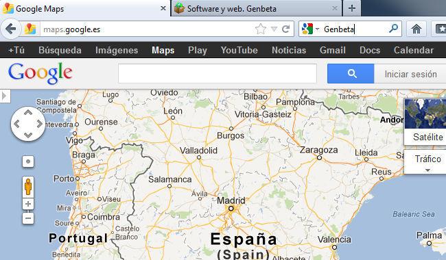 Google Maps España
