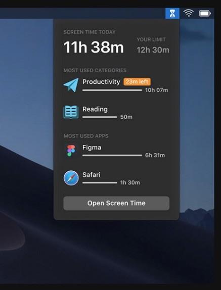 Tiempo De Uso Mac 2