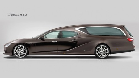 Tu último viaje en coche podría ser en un Maserati Ghibli como este