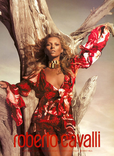 Kate Moss para Cavalli