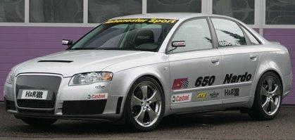 El Audi A4 más rápido del mundo: 343.9 km/h