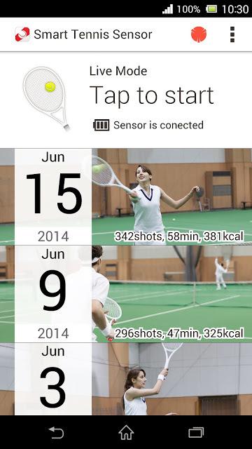 Foto de Sony Smart Tennis Sensor (11/15)