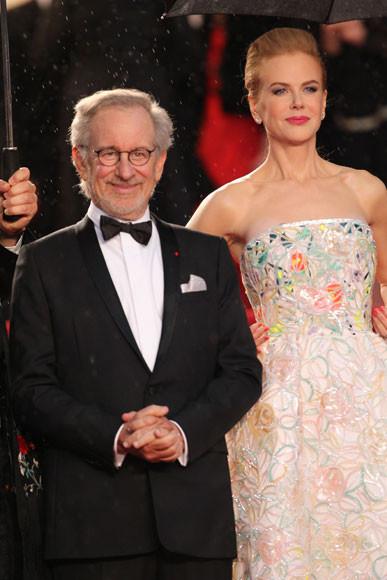 Steven Spielberg y Nicole Kidman