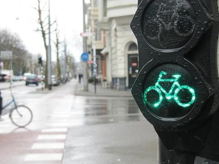 Bicicleta-semaforo