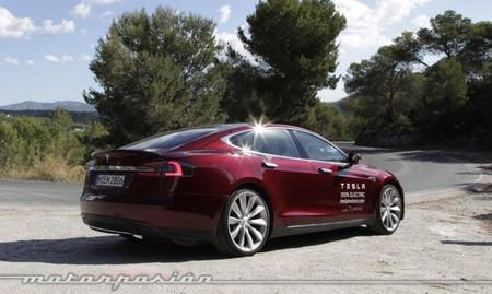 Tesla Model S prueba en Ibiza 11