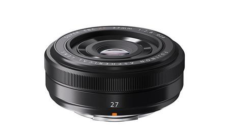 Fujinon 27 mm front
