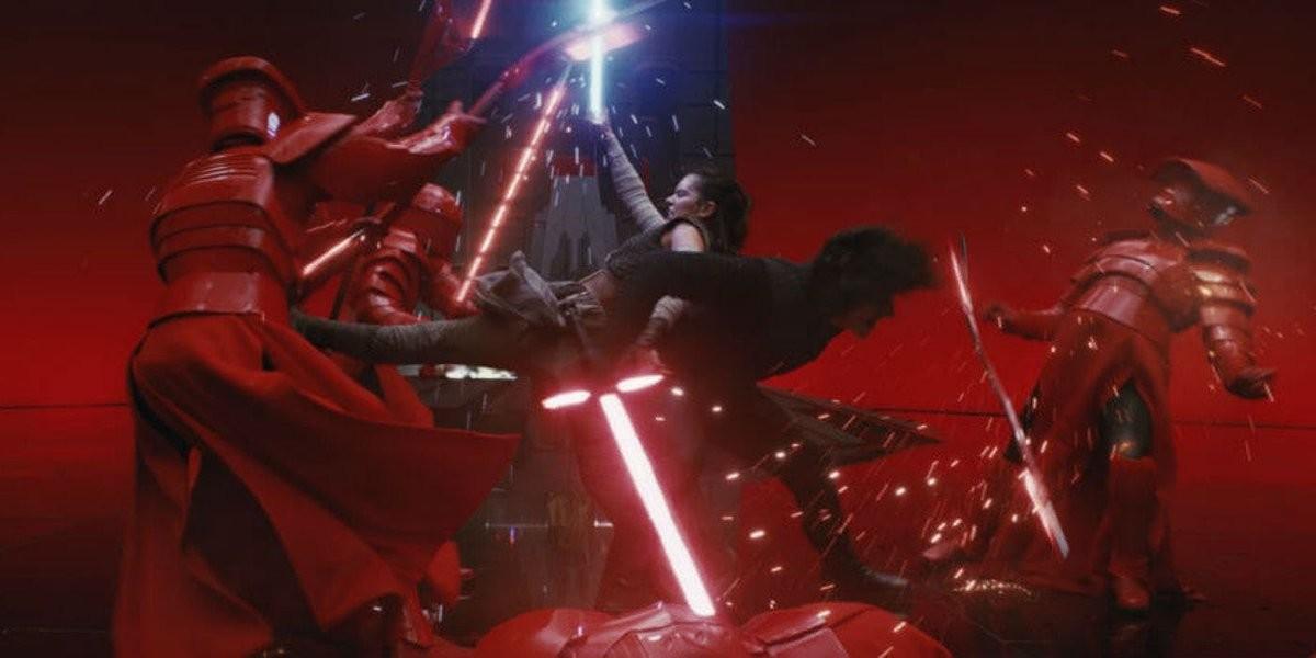 La escena más épica de 'Star Wars: Los últimos jedi' contiene un increíble error que nadie había detectado...