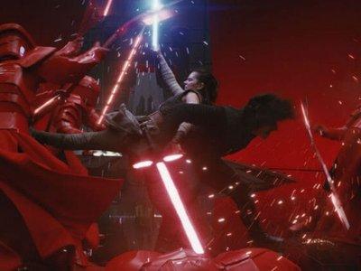 La escena más épica de 'Star Wars: Los últimos jedi' contiene un increíble error que nadie había detectado hasta ahora