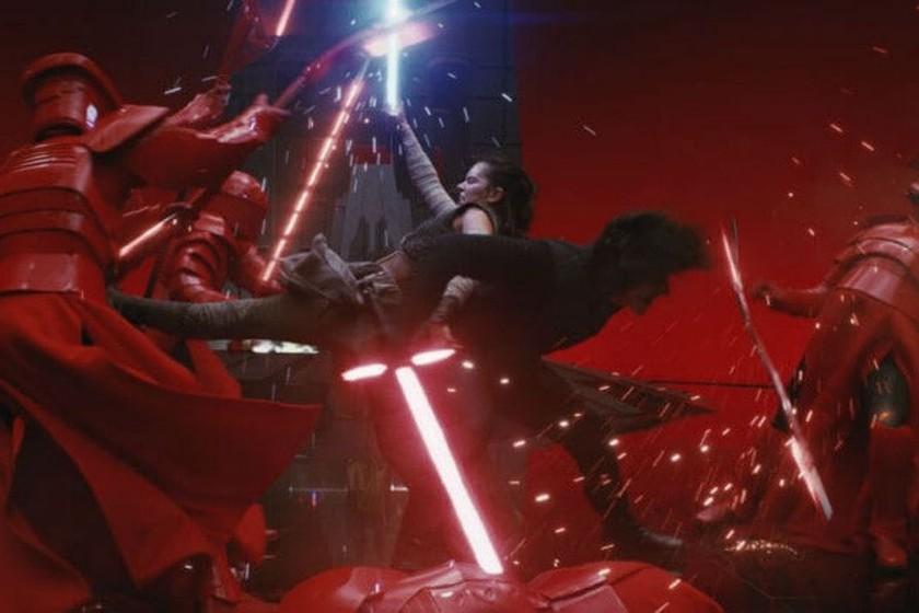 La Escena Más épica De Star Wars Los últimos Jedi Contiene Un Increíble Error Que Nadie Había Detectado Hasta Ahora