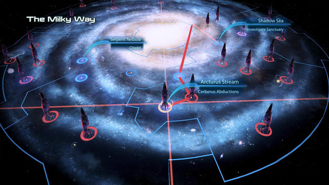Mass Effect 3 Galaxy