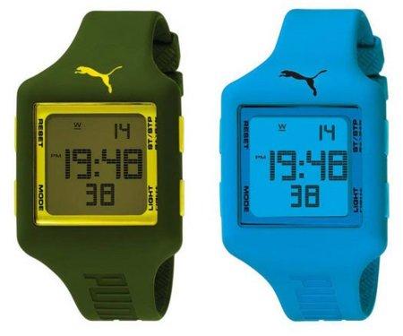 Relojes Puma: la hora del color