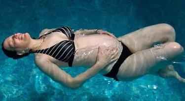 Natación durante el embarazo: consejos