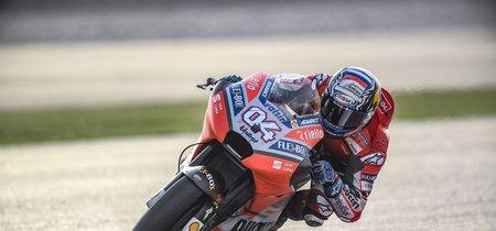 Andrea Dovizioso domina la primera jornada de MotoGP con Maverick Viñales fuera del top 10