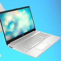 HP 15s-eq1073ns: potencia para trabajar a precio de gama media. Amazon tiene este portátil con Ryzen 7 y 12 GB de RAM a 549,99 euros con una rebaja de 100 euros