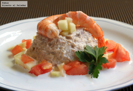 Mousse rápida de atún y anchoas, receta facilísima