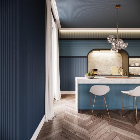 Adiós a las paredes lisas y aburridas, el volumen de los paneles 3D permite lograr acabados increíbles