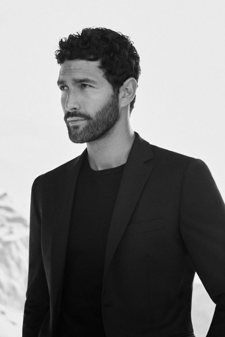Noah Mills Massimo Dutti Fall Winter 2016 Eveningwear Lookbook 004
