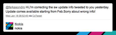 Nokia confirma que Belle llegará el próximo mes de Febrero