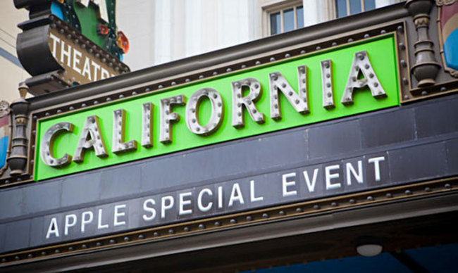 California Apple Special Event