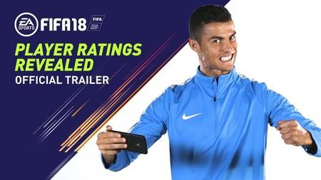 CR7 y las estrellas de FIFA 18 dejan muy claro la media que merecen esta temporada en el último tráiler