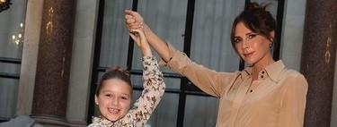Harper Seven Beckham la protagonista del desfile de su madre Victoria Beckham