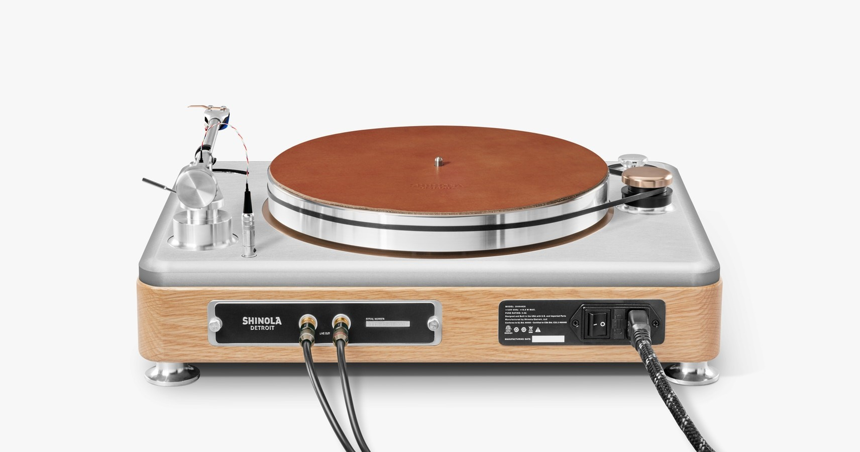 Foto de Shinola Runwell Turntable (1/7)