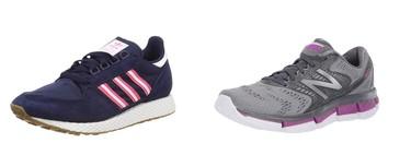 Chollos en tallas sueltas de zapatillas   New Balance y Adidas en Amazon