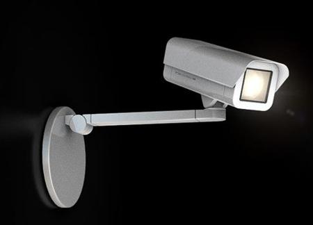 Spoticam, lámpara con forma de cámara de seguridad