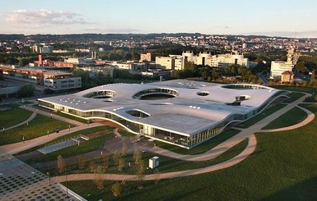 Rolex Learning Center de la Escuela Politécnica Federal de Lausana