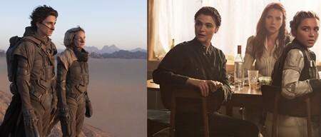 14 películas imprescindibles para este fin de semana (17-19 de septiembre): 'Dune', 'Viuda Negra', 'Contagio' y más