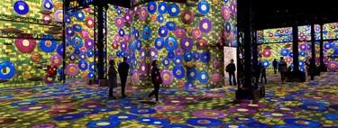 El museo de arte digital de París que te sumerge dentro de las grandes obras de Klimt