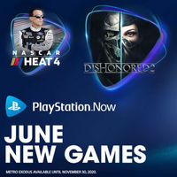 Metro Exodus, Dishonored 2 y Nascar Heat 4 son los juegos que se unen a PlayStation Now en junio
